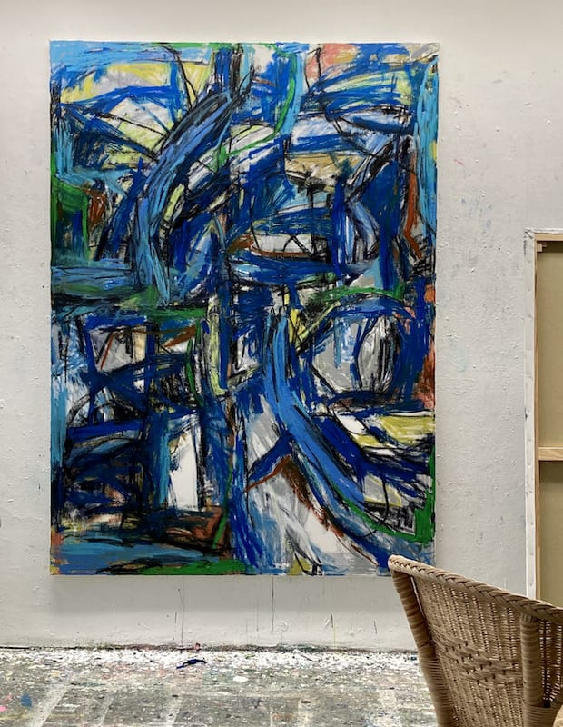 145x200cm,  Oil Stick, Acrylic on Canvas,2020