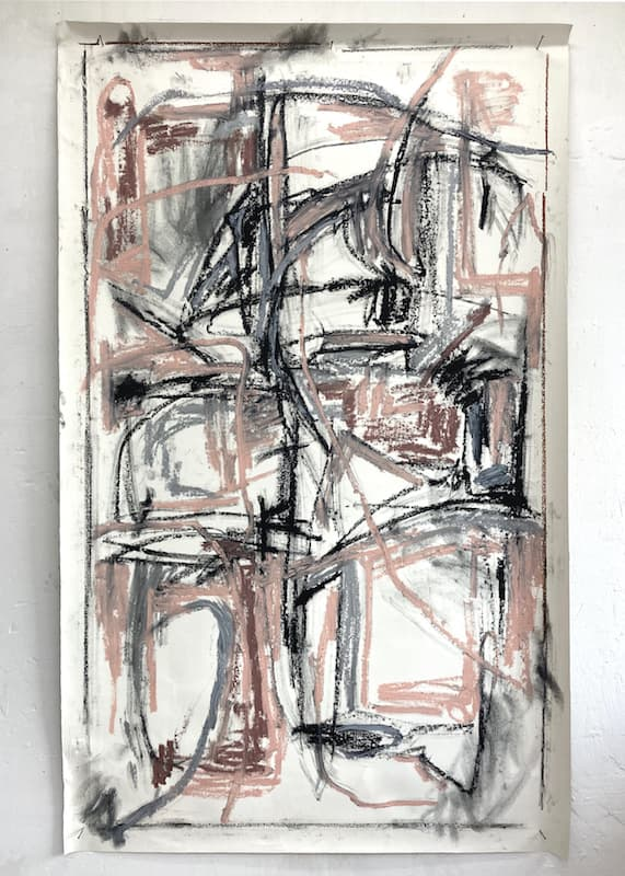 95x150cm, Oil Stick, Acrylic on Canvas,2020